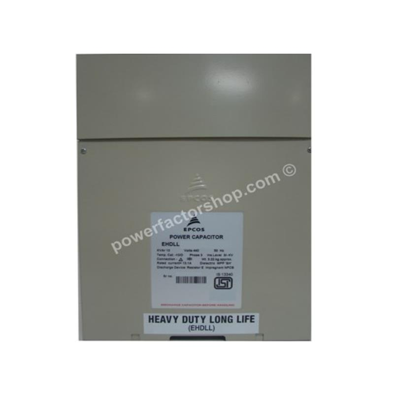 EPCOS Square Type EHDLL 440V 3PH,50Hz
