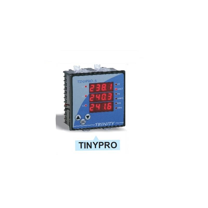 TRINITY TINY PRO 3 WITHOUT PORT LED 4X3 LINES (Multifunction Meter)