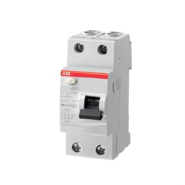 ABB Double Pole RCCB 10 KA FB202 SERIES