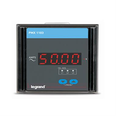 Legrand PMX 1 Phase Digital Panel Meters