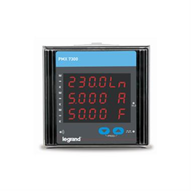Legrand PMX Digital Multifunction meter MFM Total Harmonics Distortion