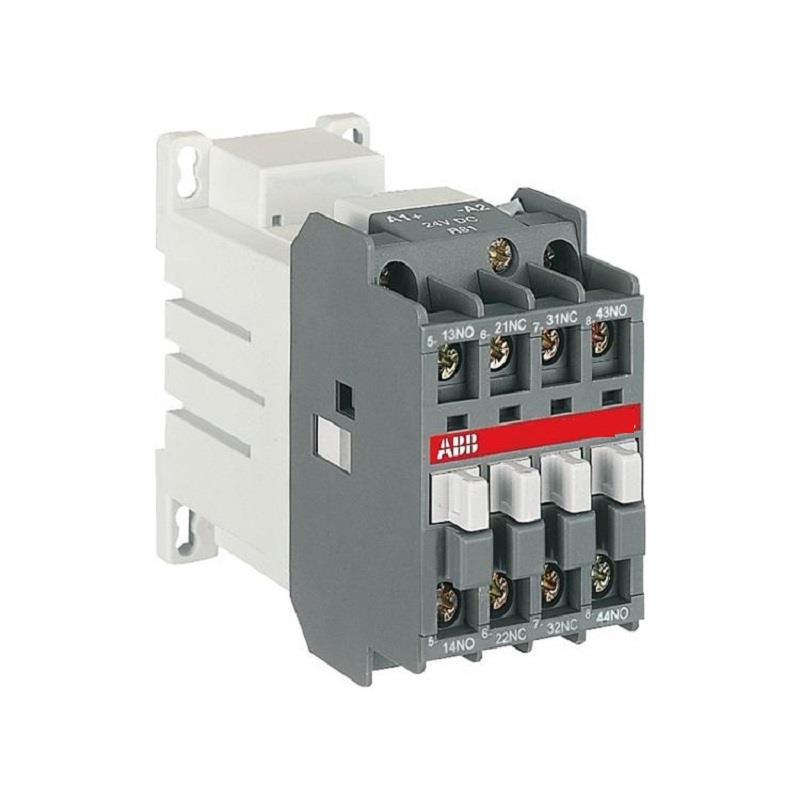 ABB AUXILLARY CONTACTOR 220V- AC Operated