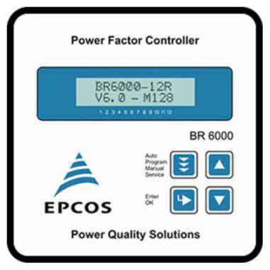 EPCOS BR6000 Power Factor Relay